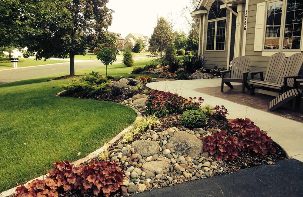 Residential Landscape Front Elevation
